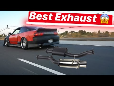 Download GOT THE BEST EXHAUST FOR MY 240SX PLUS INSTALL