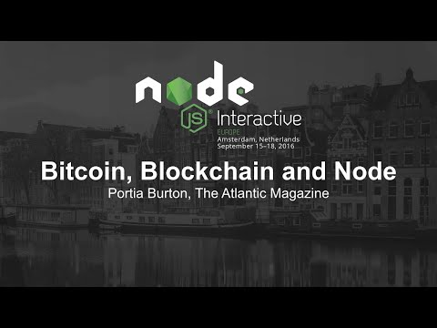 Bitcoin, Blockchain and Node - Portia Burton, The Atlantic Magazine