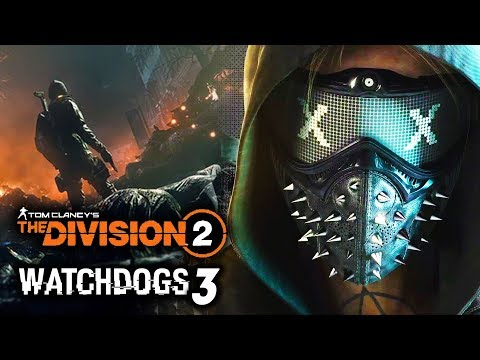 Watch Dogs 3 and The Division 2: ALL NEW TEASES and UPDATES! Ubi's Battle Royale! New Gameplay Soon!