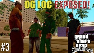 """""""OG LOC"""" GETS EXPOSED BY HIS CELLMATE! ( FUNNY """"GTA SAN ANDREAS"""" GAMEPLAY #3)"""