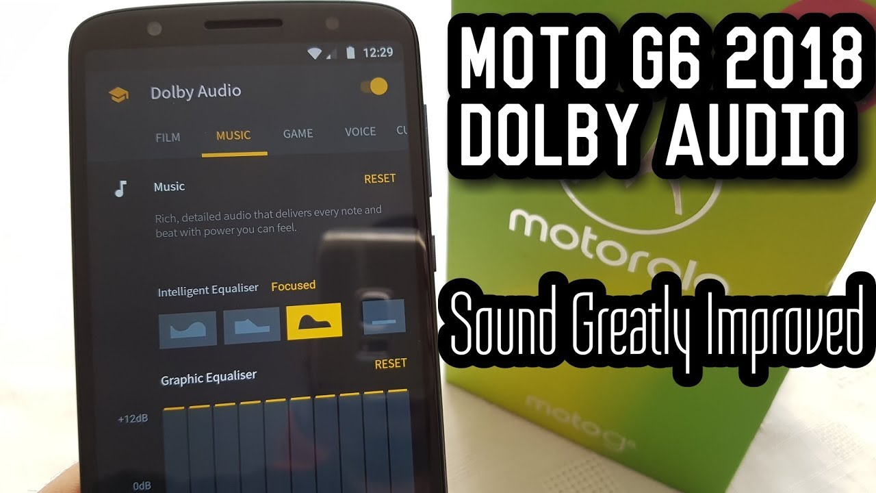 Moto G6 2018 Dolby Audio (Sound Quality Speaker Test)