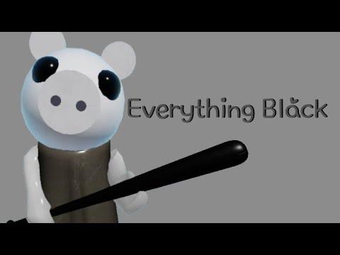 Everything Black meme (roblox piggy ft. Memory)