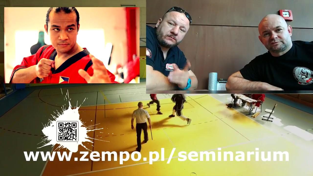 Eskrima Seminarium Ermar Alexander 6 Dan w Gdańsku