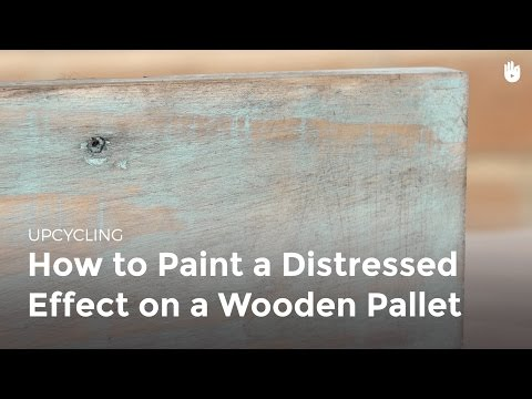 How to Distress Wood | Upcycling