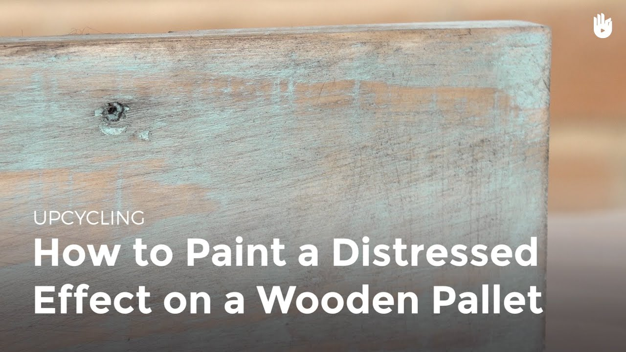 Learn How To Distress Wood Upcycling Youtube