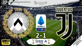 Udinese vs juventus 2020 | serie a 2019/20 all goals & highlights fifa 20 predictionfull match gameplay simulation full hd 1080p#fifa20#seriea#udinesej...