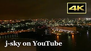 [4K] Night landing! ANA's landing shots at Tokyo Haneda Airport Runway 34L [羽田空港・夜景] [FZ1000]