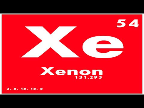 Study guide 54 xenon periodic table of elements youtube study guide 54 xenon periodic table of elements urtaz Image collections