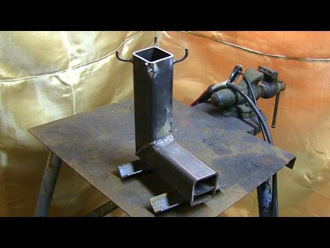 Build a simple rocket stove in 30 minutes or less! | Redneck Homestead