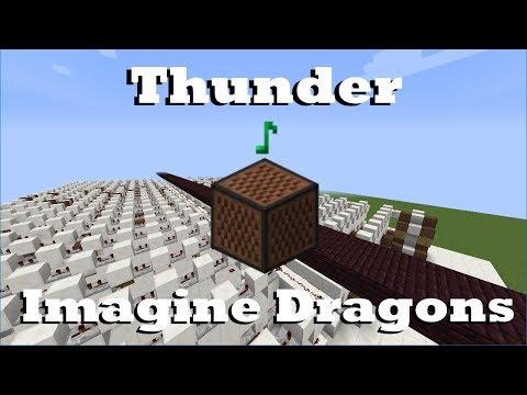 Thunder - Imagine Dragons - Minecraft Note Blocks