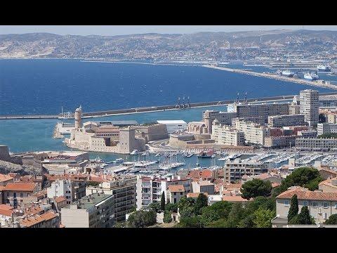 Fort Saint Jean Marseille in 4K