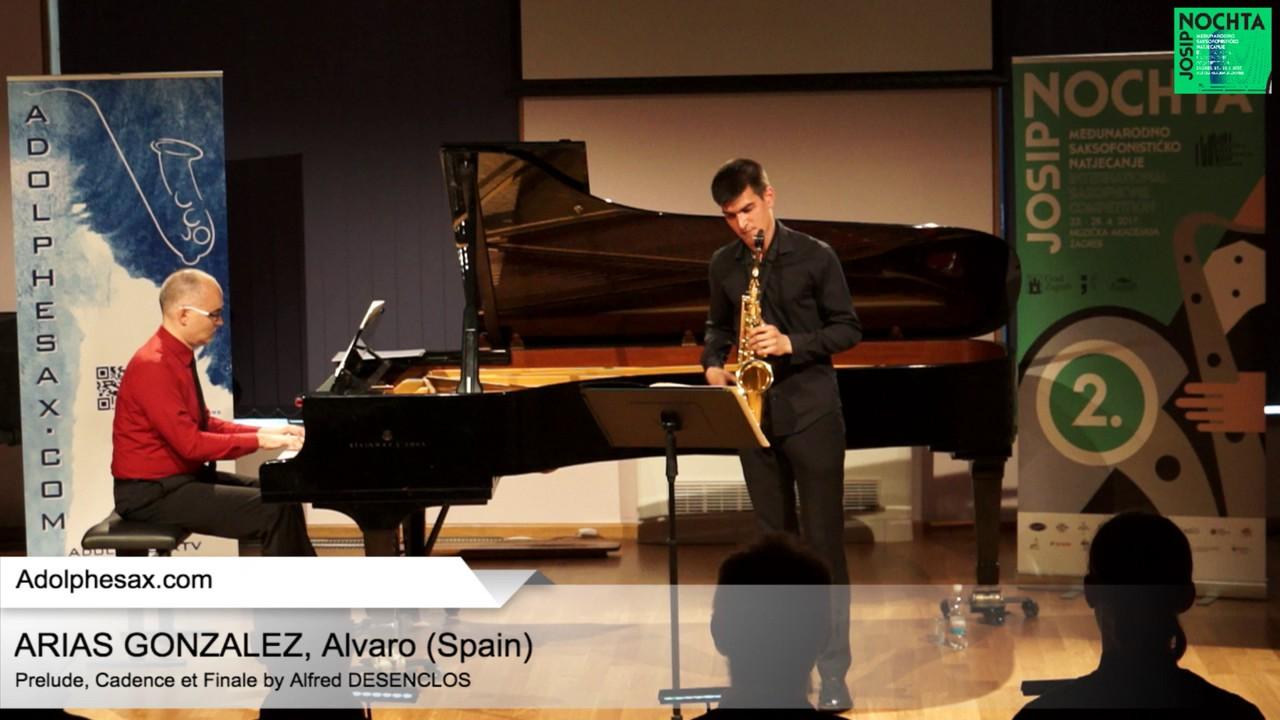 Prelude, Cadence et Finale (Alfred Desenclos) – ARIAS GONZALEZ, Alvaro (Spain)