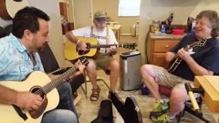 Folsom Prison Blues. Johnny Cash cover at Rick Hayes Guitar and Mandolin shop
