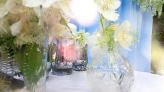 BlueRomantic briht наша фото зона и зона росписи в голубом цвете