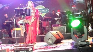 Kolaveri Di - Usha Uthup LIVE on Christmas 2011