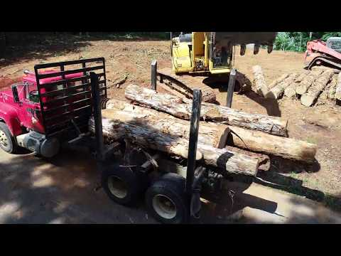 LTS Construction of Huntland TN land clearing project 11