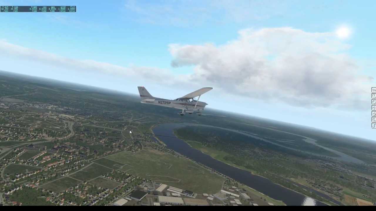 X-Plane 11 - XEnviro experimental clouds - YouTube