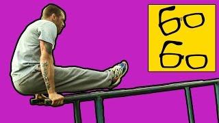 Воркаут для бойца! Уличная тренировка (street workout) Андрея Басынина — турник, брусья, растяжка