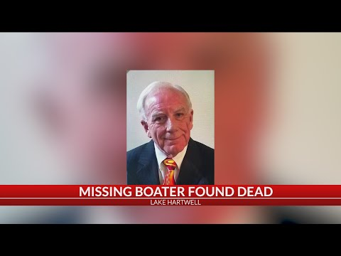 Body Of Missing Boater Recovered On Lake Hartwell, Ga. Officials Confirm