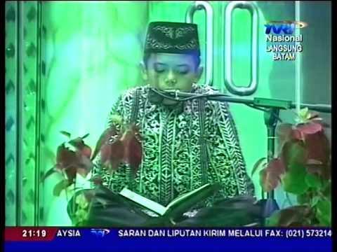 Adnan Tumanggor Penutupan MTQ Nasional ke 25 di Kota Batam kep Riau