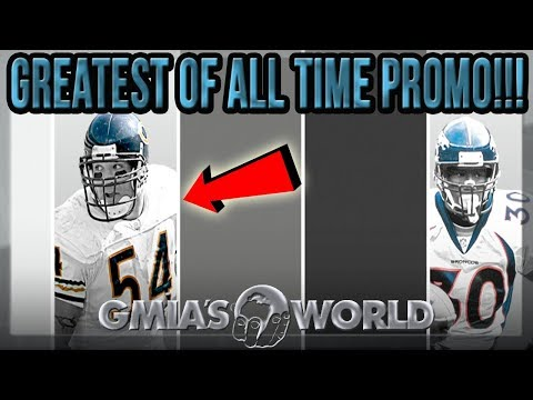 MADDEN 18 GREATEST OF ALL TIME PROMO EXPLAINED IN DETAIL TERRELL DAVIS URLACHER MUT 18