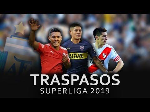 Mercado de Pases Superliga 2019/ Boca Juniors, River Plate, Independiente