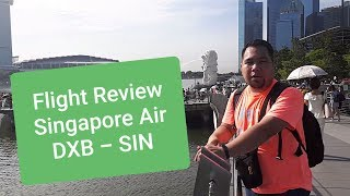 FLIGHT REVIEW Singapore Airline SQ495