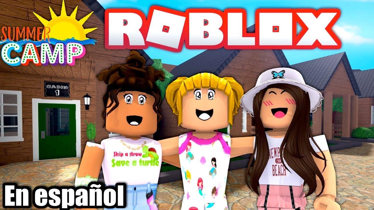 Roblox Primer Dia Campamento de Verano en Bloxburg con Goldie y Titi