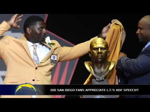 LaDainian Tomlinson impresses everyone with Hall of Fame speech