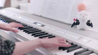 """гЂђж–°з""""џFF14гЂ'г'®гѓ©гѓђгѓ‹г'ўж№–з•""""ењ°еёЇ е¤њгЂЂThe Lochs Night Theme Piano cover"""