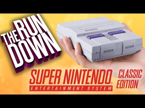 SNES Classic Announced! - The Rundown - Electric Playground
