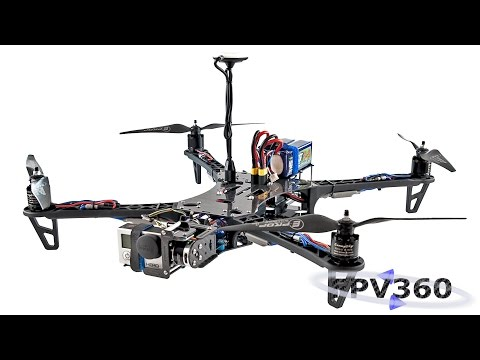 FPV360 Quadcopter upgrade/build instructional video