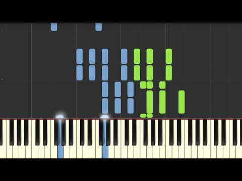 Old Friends | Piano Tutorial For Synthesia ♬