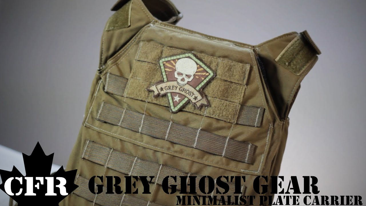 Grey Ghost Gear Minimalist Plate Carrier Review - YouTube