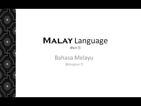 Malay Audio Lessons - Learn Languages
