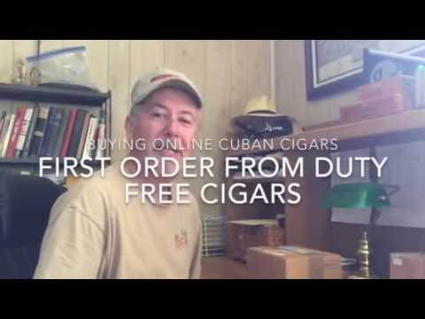Buying Cuban Cigars Online