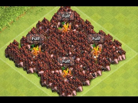 400 MAX LEVEL HOG ATTACK IN COC MOD - YouTube