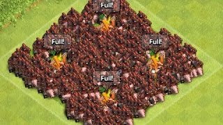 400 MAX LEVEL HOG ATTACK IN COC MOD