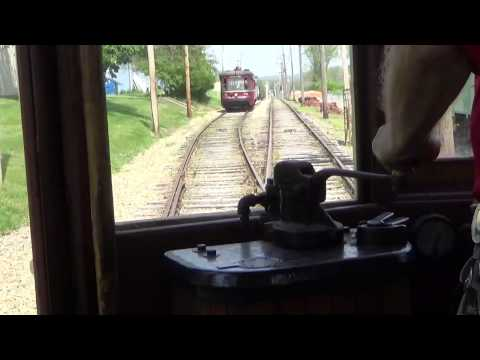 Operating a Trolley at Pennsylvania Trolley Museum & More HD