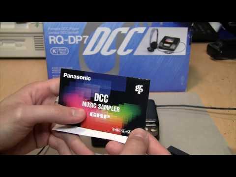 Panasonic RQ-DP7 portable DCC player unboxing & test