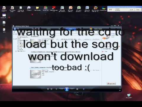 How to download songs onto a mp3 player (very easy )