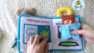 Early learning Lullaby and Goodnight Bear Cloth Book