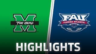 Highlights: Marshall at FAU