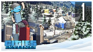 Cities Skylines - Snowfall Ep.01 : The Winter is Coming!