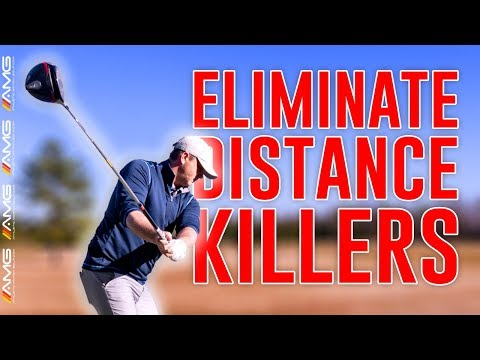 Golf Swing Drills To Eliminate Distance Killers 🏌️‍♂️☠️