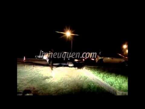 El accidentado finde terminó con un triple choque en la Ruta 22
