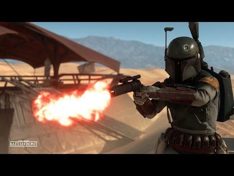 Star Wars Battlefront 2015 ALL Boba Fett Dialogue