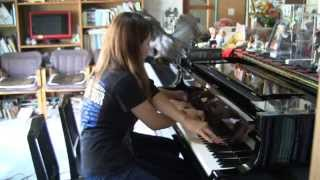 "【SLAYER】Raining Blood ~most brutal Piano cover for Four Hands~ ""J..."