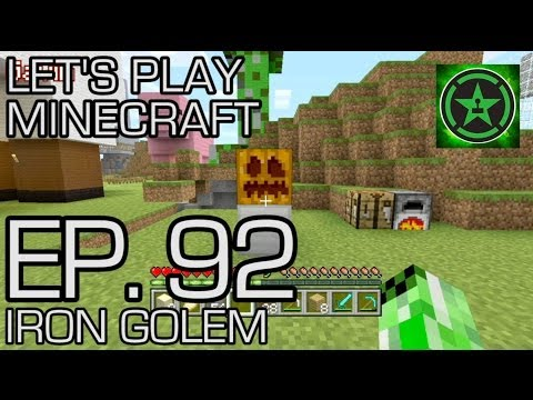 Let's Play Minecraft - Episode 92 - Iron Golem