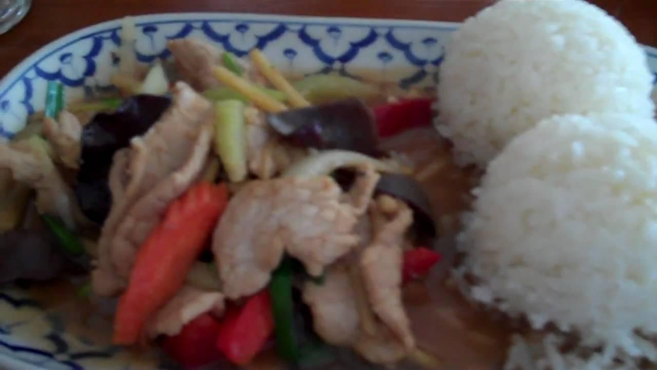Thai Food Lunch Sabieng Restaurant Santa Cruz California Usamp4